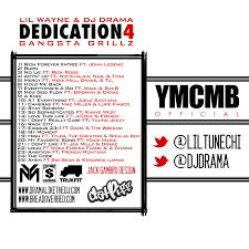 Lil Wayne No Ceilings 2 Album Tracklist by Dedication 4 Tracklist
