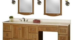 60 Inch Bathroom Vanity Single Sink by Brilliant Dual Vanity With Makeup Counter Houzz Throughout