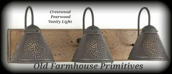 Bathroom Double Vanity Lights by Crestwood Primitive Bathroom Vanity Light Primitive Bathroom