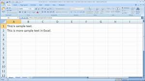 Excel Tips 31 Add Multiple Lines To Text Within Cells Use The