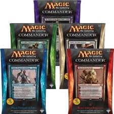 Premade Commander Decks 2015 by Magic Gatherings 3 Pre Pros And Pre Cons