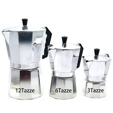 Superb Percolator Coffee Pot New 1 Cups Espresso Maker Machine Aluminum Stove Top