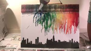 Melting Crayon Art Tutorial