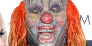 Slipknot Halloween Masks 2015 by A Very Creepy Clown Graces The Grammys Red Carpet Huffpost