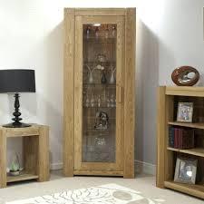 contemporary corner glass cabinet glass display home corner