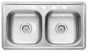 stainless steel kitchen sink 33 x 19 x 8 star mobile home supplies