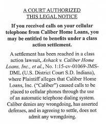 Homeowners Eligible for of $2 895 Million Caliber Settlement