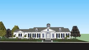Neoclassical House Neoclassical Home 3d Warehouse