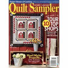 Better Homes & Gardens Quilt Sampler Fall Winter 2017 Meredith