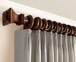 Menards Window Curtain Rods by Intercrown 48 Decorative Wood 34 Diameter Drapery Rod At Menards