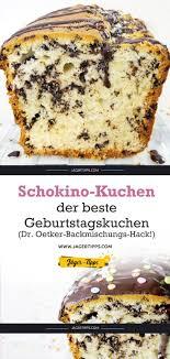 schokino kuchen der beste geburtstagskuchen dr oetker