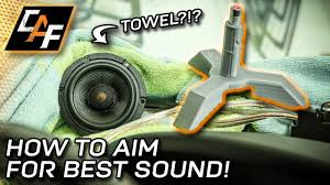 Where To Aim A-Pillar Speakers For Best Sound? - YouTube