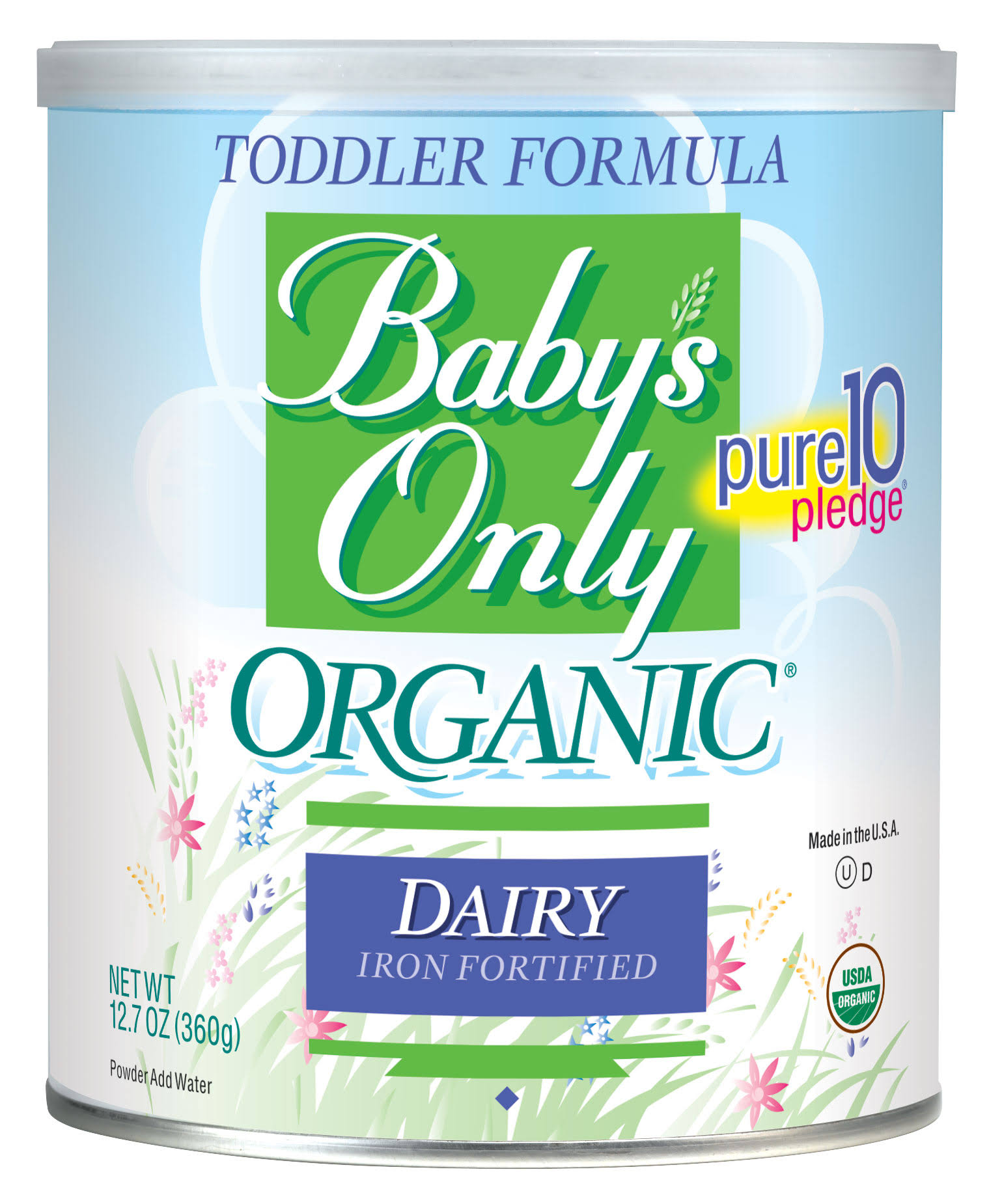 Baby's Only Organic Dairy Formula - 12.7 oz can