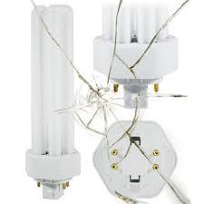 plt 4 pin cfl 26 watt 3500k halogen white