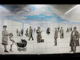 Tile Installer Jobs Nyc by Second Avenue Subway Art Including Work By Chuck Close Is