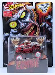 100 Hot Wheels Monster Jam Trucks List Zombie Model HobbyDB