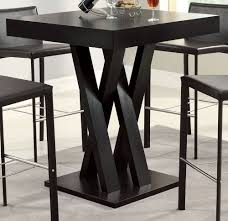 Square Dining Table, Counter Height Pub Bar Bistro Kitchen ...