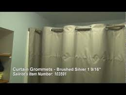 Dritz Curtain Grommet Kit by Curtain Grommets Black 1 9 16