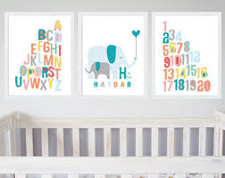 blue grey nursery etsy