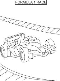 Car Racing Coloring Pages Including F1 Nascar Style As Well Fancy Exotics