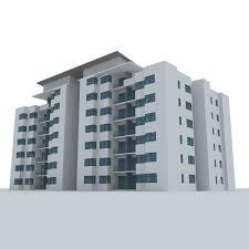 Street 3D Resident Building CGTrader