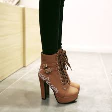 lace up chunky heel ankle boots ankle boots ankle and shoe boot