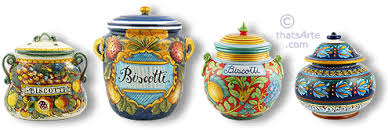Collection Of Tuscan Cookie Jars