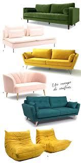 couleur canapé canape couleur 100 images des canapés convertibles aux