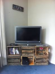 Cool Tv Stand Ideas New How To Choose A Crate Wood Crates And Diy
