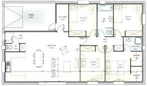 maison plain pied 5 chambres plan maison 5 chambres gratuit 0 etage systembase co