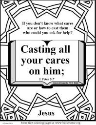 Free Bible Coloring Pages About Fear NET