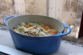 recette poule au pot riz poule au pot et sa sauce moutarde