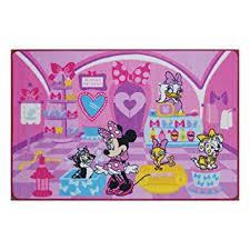 Amazon Disney Girls Toy Rug Carnival Minnie Mouse Game Rugs