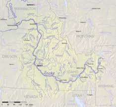 Snake River Watershed Map