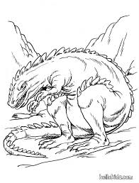 Scary Ankylosaurus Coloring Page