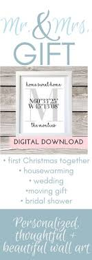 Home Sweet Welcome Printable Family Name And Coordinates Housewarming Gift JPEG Digital Files Sized For 8x10 5x7