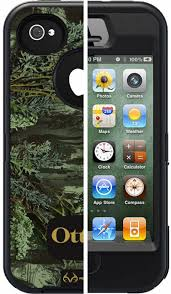 OtterBox iPhone 4 4S Defender Series Case with Realtree Max 1 Camo