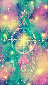 Compass Dreamcatcher Galaxy IPhone Android Wallpaper I Created For The App CocoPPa