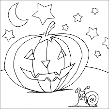 Scary Halloween Pumpkin Coloring Pages by Halloween Coloring Pages To Print Scary Gallery For Gt Really