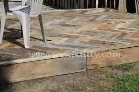 Pallet Deck From The Yard