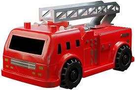 Amaz-Hub Rey N Ran Mini Magic Inductive Fire Truck Follows Black ...