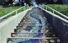16th Avenue Tiled Steps In San Francisco by Bubbles And Bay Blog Archive Stairway To Heaven 16th Ave
