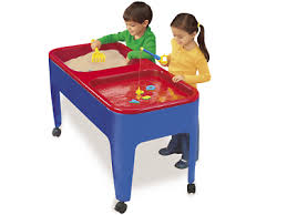 Sand U0026 Water Tables For by Preschool Two Station Sand U0026 Water Table At Lakeshore Learning