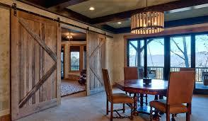 Barn Door Room Divider Dining Decor Diy