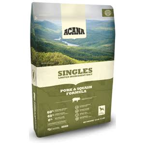 ACANA Singles Pork & Squash Dry Dog Food 25 lbs