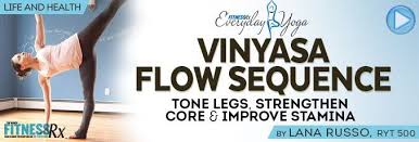 Vinyasa Flow Sequence