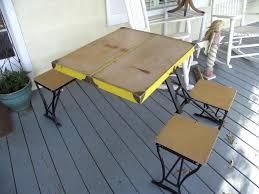 diy fold up picnic table home furniture blog fold up picnic