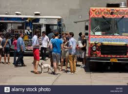 Food Trucks In DUMBO Brooklyn NY Stock Photo: 58376262 - Alamy Nycs Bureaucracy And Red Tape Will Kill Your Favorite Food Truck A Food Truck With A Cause Dollars Sense The Carnival Los Angeles Trucks Roaming Hunger Trucks At Pier 13 In Hoboken Nj Things To Do Pinterest Jersey Johnnys Grill During Wars Monmouth Park Outdoors Stock Photos Smoasburg Williamsburgdumbo Brooklyn 24 Dollar Burger Top 5 Cities North America Blog Hire Vacation Dumbos Foodtruck Scene Is Online Dumbo Lot Dumbolot Twitter Amanda Banas Retrack Toum Nyc Toumnyc