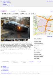100 Craigslist Maryland Cars And Trucks By Owner Could This 2010 Lotus Evora Be Good Enough To Ask 33900