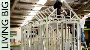 100 Homes Made Of Steel Framing With FRAMECAD Erecting The Frame YouTube